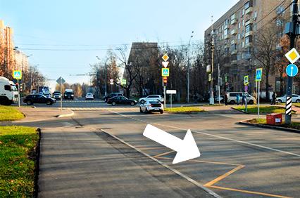 1 -Перекресток улицы Мосфильмовская и Университетский проспект.JPG